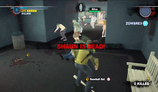 Dead rising 2 intro elevator shaun is dead weapons