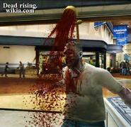 Dead rising showerhead in zombies