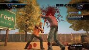 Dead rising 2 spiked bat in front of sign 2