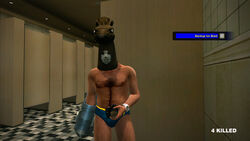 Dead rising hockey mask and horse mask