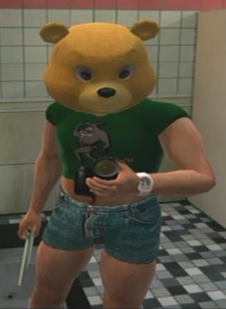 File:Tyke N Tots Ye Olde Toybox Teddy Bear Mask Green Ratmant t shirt (3).png