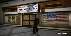 Dead rising Huntin Shack gunshop