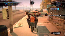 Dead rising 2 Case case 0-3 utility cart pushing 11 safe house