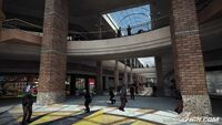 Dead rising entrance plaza with scattered zombies CAPCOM cnn com