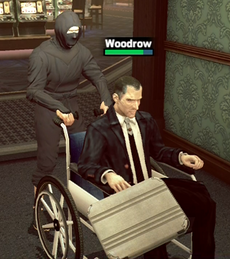 Dead rising 2 wheelchair by survivor