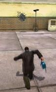 Dead rising kicking weapon cart