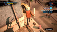 Dead rising 2 case 0 broadsword along roof (4)
