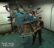 Dead rising weapons cart frank holding