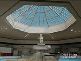 Dead rising north plaza fountain for background