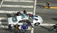 Dead rising 255 no genre man atop white car (6)