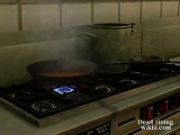 Dead rising range frying pan heating up