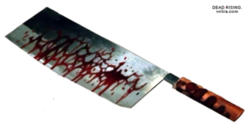 Dead rising Meat Cleaver