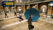 Dead rising parasol hitting zombies in al fresca (4)