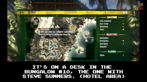 Dead Island - Id Card 23 Location