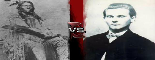 Crazy Horse vs Jesse James