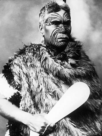 File:Maori warrior with club.jpg