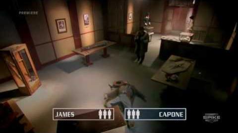 Deadliest Warrior 2x03 Jesse James vs Al Capone