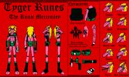 Tyger Runes character sheet