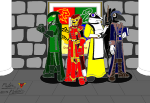 The Four Magnificent Magicians