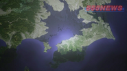 Great Tokyo Earthquake map anime