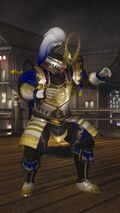 DOA5LR Samurai Warriors Costume Bass