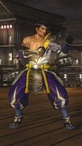 DOA5LR Samurai Warriors Costume Rig