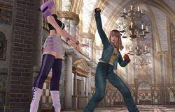 DOAU Hitomi vs. Ayane