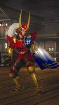 DOA5LR Samurai Warriors Costume Jann Lee