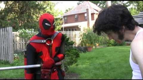 Deadpool Walking part 1