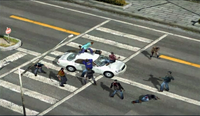 Dead rising 231 brutality man atop white car (3)