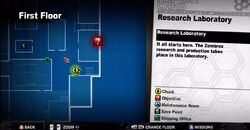 Dead rising allie stairs too map