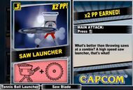 Dead rising 2 combo card Saw Launcher