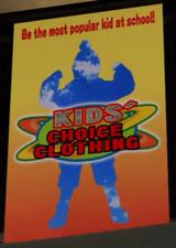 Kids' Choice Clothing Ad