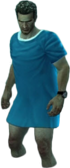 Dead rising Medical Gown