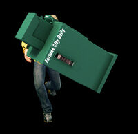 Dead rising newspaper box combo 1