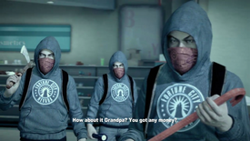 Dead Rising 2 Looters in Roy's Mart