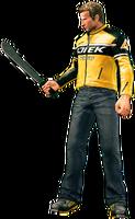 Dead rising machete holding