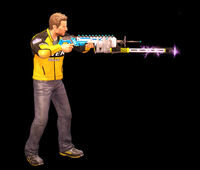Dead rising lightning gun side