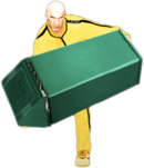 Dead rising metal garbage can combo