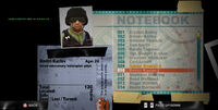 Dead Rising dmitri notebook