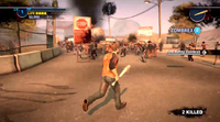 Dead rising 2 Case 0 quarantine zone approaching (2)