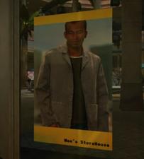 Men's Storehouse Window Poster 1