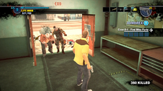 Dead rising case 0 maintenance room zombies wont come in