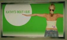 Kathy's Boutique Poster Back