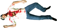 Dead rising tir employee corpse full