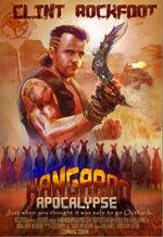 Dead rising 2 off the record clint rockfoot poster kangaroo apocalypse
