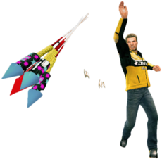 Dead rising rocket fireworks alternate