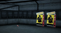 Dead rising Weapon Vending between royal flush ladder and warehouse C