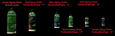 Dead rising all spray paint