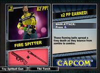Dead rising 2 combo card Fire Spitter